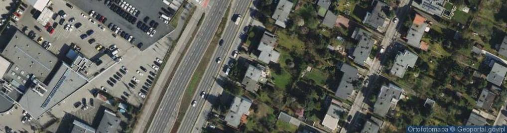 Zdjęcie satelitarne Bułgarska 44