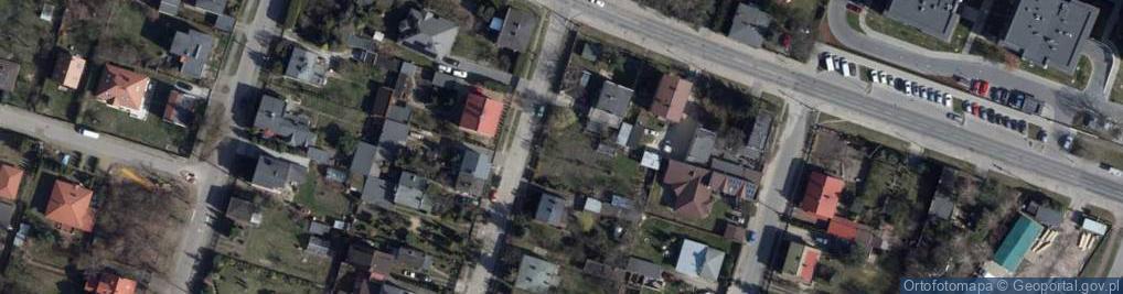 Zdjęcie satelitarne Cegielniana 4