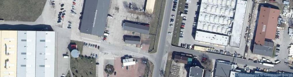 Zdjęcie satelitarne Ceramiczna 1b