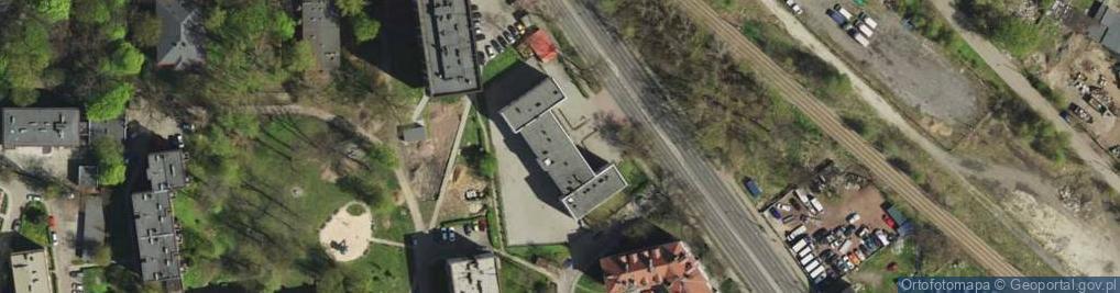 Zdjęcie satelitarne Chorzowska 14G