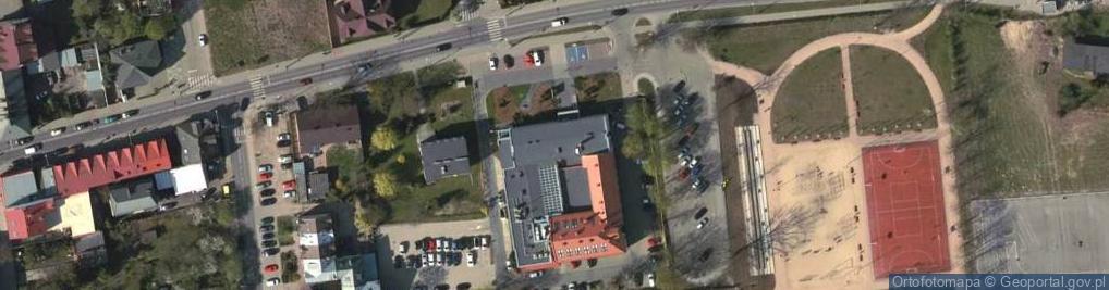 Zdjęcie satelitarne Chyliczkowska 14