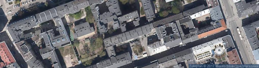 Zdjęcie satelitarne Chmielna ul.