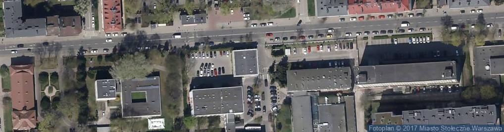 Zdjęcie satelitarne Chełmska 21