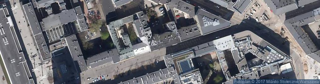 Zdjęcie satelitarne Chmielna 26
