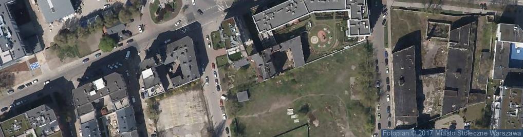 Zdjęcie satelitarne Chodakowska 22