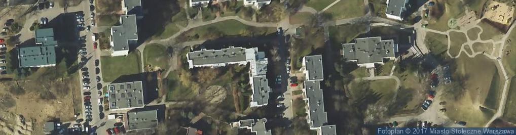 Zdjęcie satelitarne Cybisa Jana 10