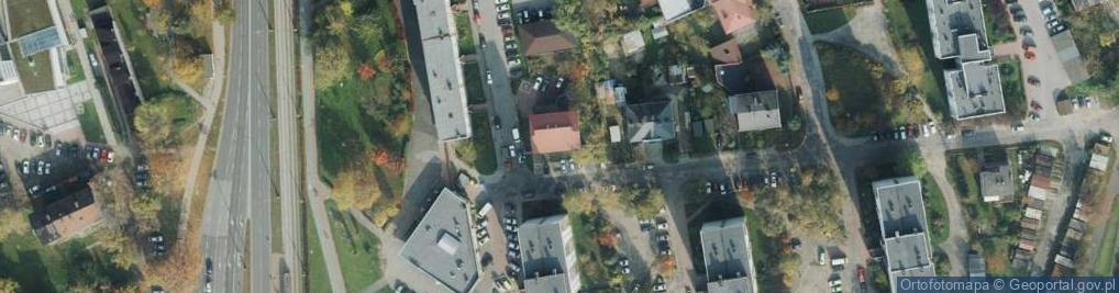Zdjęcie satelitarne Czartoryskiego 28