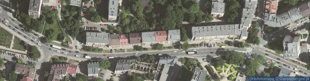 Zdjęcie satelitarne Czarnowiejska 91