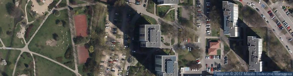 Zdjęcie satelitarne Dąbrowskiej Marii 19