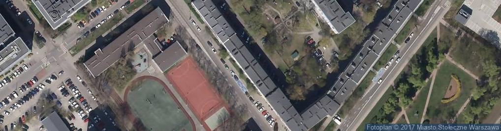 Zdjęcie satelitarne Dąbrowszczaków 4