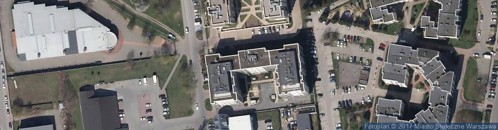 Zdjęcie satelitarne Dalanowska 46