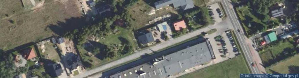 Zdjęcie satelitarne Dębowa 4