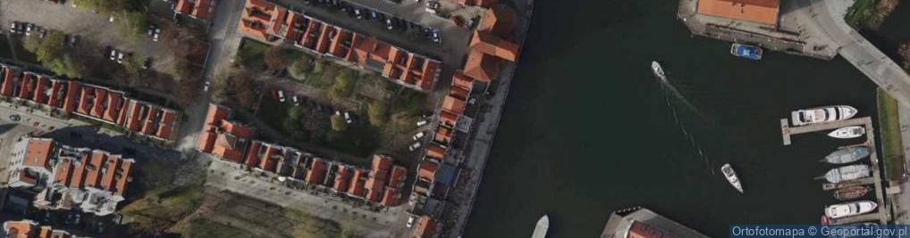 Zdjęcie satelitarne Długie Pobrzeże ul.