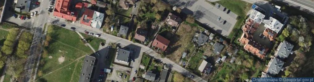 Zdjęcie satelitarne Długa 7