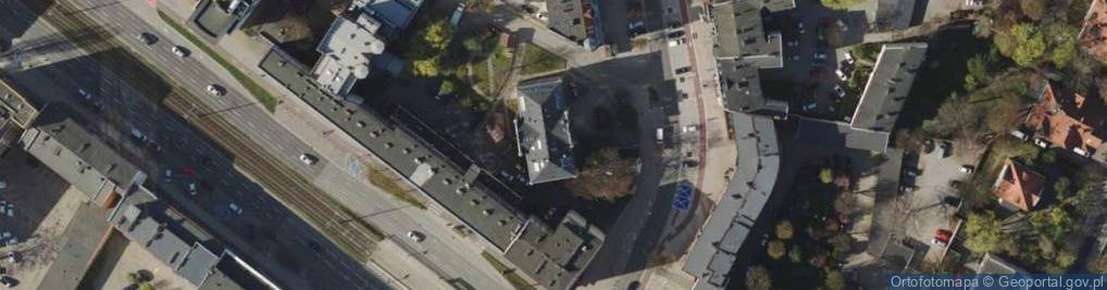 Zdjęcie satelitarne Dmowskiego Romana 16a