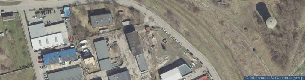 Zdjęcie satelitarne Do Huty ul.