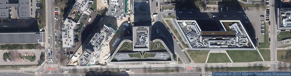 Zdjęcie satelitarne Domaniewska 34B