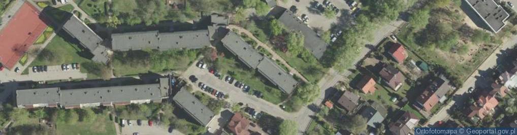 Zdjęcie satelitarne Dziesięciny ul.