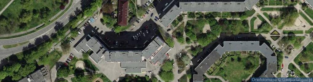 Zdjęcie satelitarne Dzielna ul.