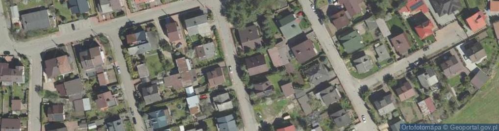 Zdjęcie satelitarne Energetyczna 3