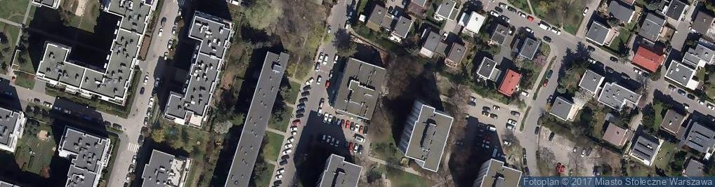 Zdjęcie satelitarne Etiudy Rewolucyjnej 48