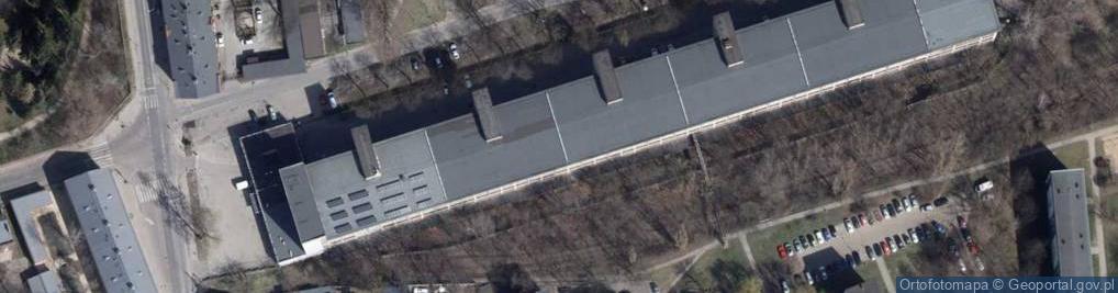 Zdjęcie satelitarne Fabryczna 25