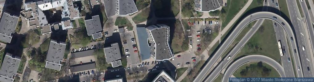 Zdjęcie satelitarne Fabryczna 2