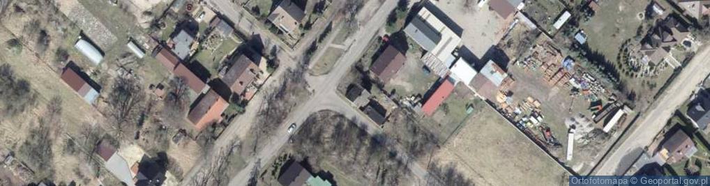 Zdjęcie satelitarne Fiołkowa 1k