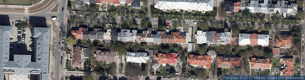 Zdjęcie satelitarne Filtrowa ul.