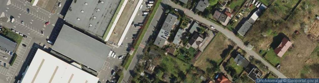 Zdjęcie satelitarne Franowo ul.