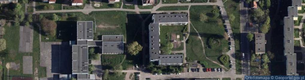 Zdjęcie satelitarne Gackowskiego Teofila 1a