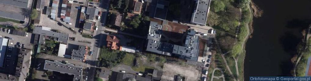 Zdjęcie satelitarne Gajowa 24a