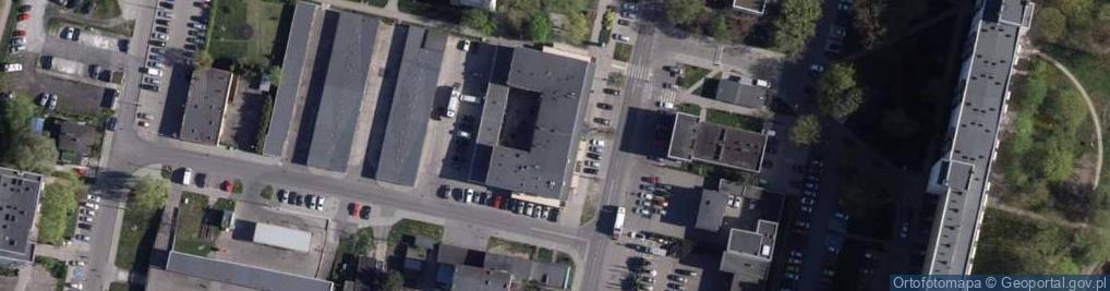 Zdjęcie satelitarne Gajowa 43