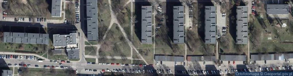 Zdjęcie satelitarne Gandhiego Mahatmy ul.