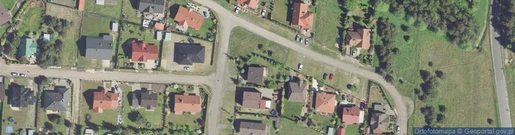 Zdjęcie satelitarne Gawronia ul.