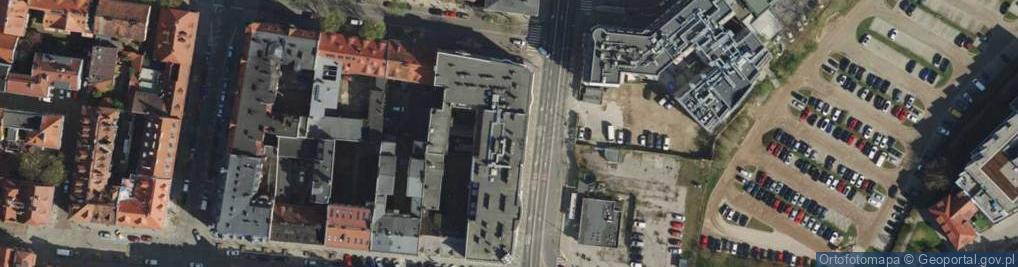 Zdjęcie satelitarne Garbary 71