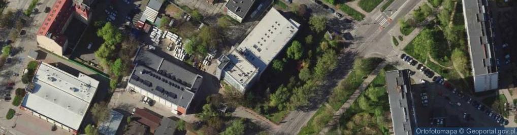 Zdjęcie satelitarne Gajowicka 95