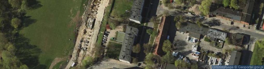 Zdjęcie satelitarne Gietkowska 4