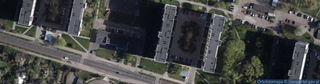 Zdjęcie satelitarne Głowackiego Bartosza 51
