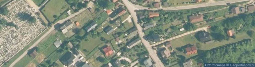 Zdjęcie satelitarne Główna 24