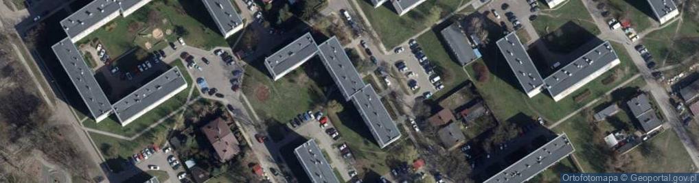 Zdjęcie satelitarne Gładka 39/41