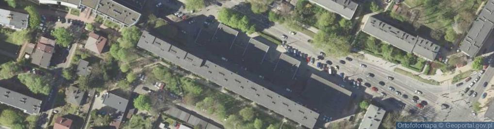 Zdjęcie satelitarne Głęboka ul.