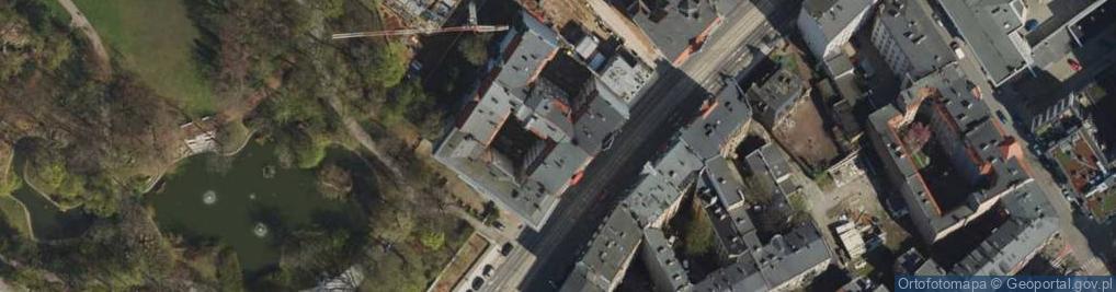 Zdjęcie satelitarne Głogowska 38