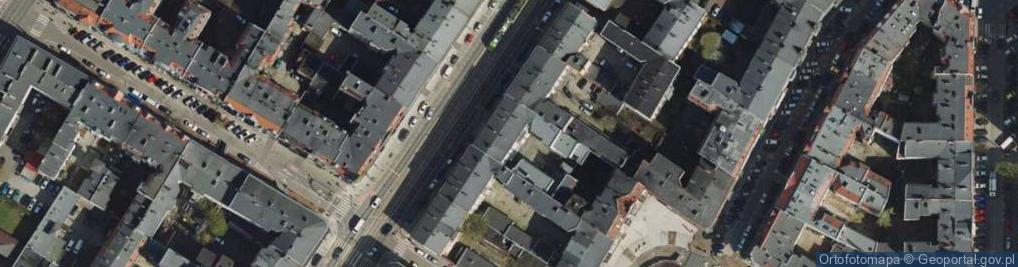 Zdjęcie satelitarne Głogowska 75
