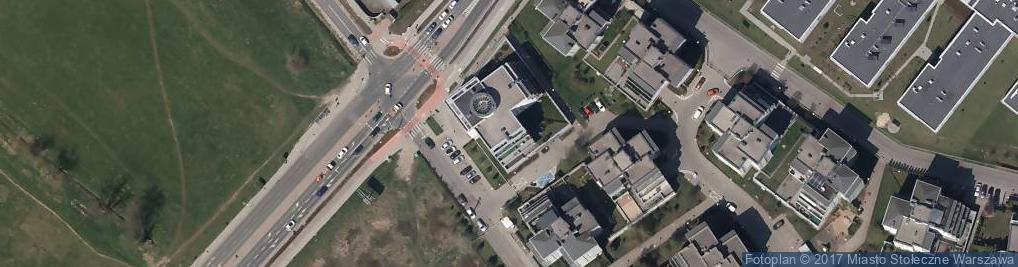 Zdjęcie satelitarne Głębocka ul.