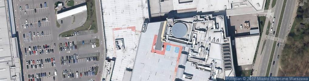 Zdjęcie satelitarne Głębocka 15