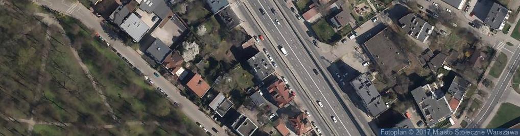 Zdjęcie satelitarne Globusowa ul.