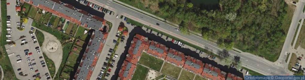 Zdjęcie satelitarne Główna 62