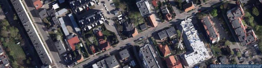 Zdjęcie satelitarne Gołębia 70