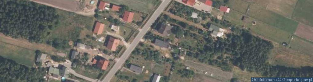 Zdjęcie satelitarne Gościnna 20